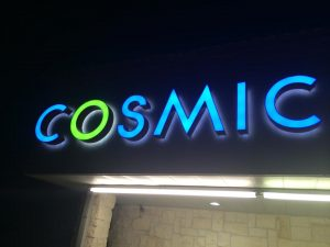 LED Signs illuminated channel letters backlit building outdoor 300x225