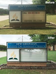 Church Signs monument sign 7 226x300